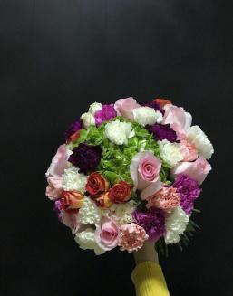 Iridescent heart | Delivery and order flowers in Aktau