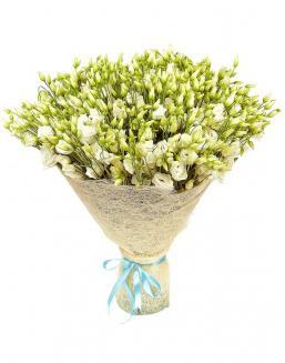 Bouquet of eustoma 51 pieces | Delivery and order flowers in Aktau