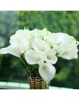 Bouquet of 51 white callas | Delivery and order flowers in Aktau