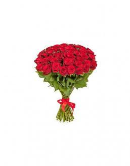 Bouquet of 51 red roses | Delivery and order flowers in Aktau