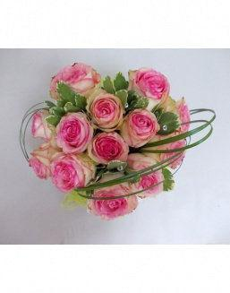 Gift Tenderness set of pink roses | Delivery and order flowers in Aktau
