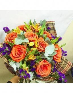 Chic bouquet | Delivery and order flowers in Aktau